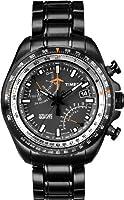 Reloj Timex T2P103D7 de cuarzo para hombre con correa de acero inoxidable, color plateado de Timex