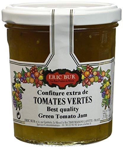 ERIC BUR Confiture Extra Tomates Vertes 370 g - Lot de 3