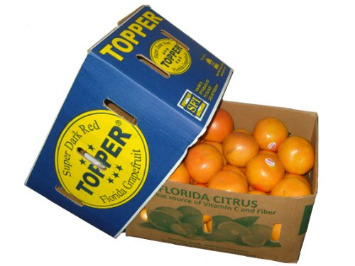 Preisvergleich Produktbild Florida Grapefruit (StarRuby) Super Dark Red,  Original-Karton 16kg