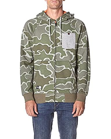 Rip Curl Words HZ Sweat-shirt Homme L Camouflage