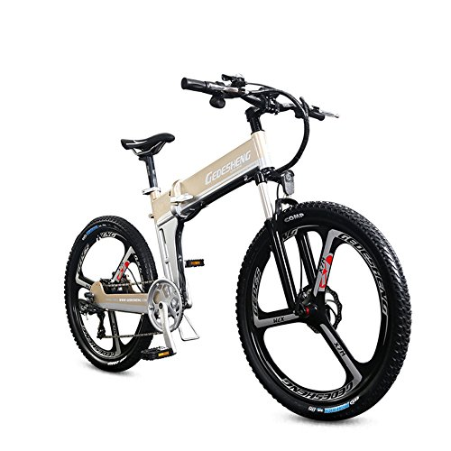 "516N%2BZ0MCyL. SS500  - GTYW Electric Folding Bicycle Mountain Bicycle Adult Bicycle - 26""-90km Life"