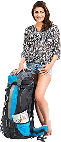 Semptec Urban Survival Technology Backpack: Profi-Trekking-Rucksack mit Aluminium-Rahmen, 80 Liter (Wander Rucksack)