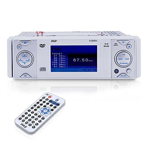 Pyle PLDMR3U Autoradio CD/DVD, silber