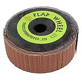 135 mm de diámetro con revestimiento de rueda de aleta abrasivos herramientas de papel de lija
