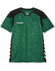 Hummel Niños Sirius Short Sleeve Jersey Camiseta, Otoño-invierno, infantil, color Evergreen, tamaño small