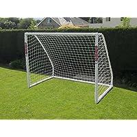 Samba 8x6ft Home Football Goal W/Ball & Pump Freestanding & Portable