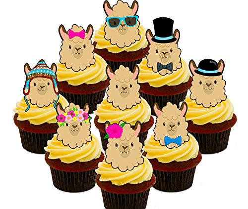 ck, essbaren Kuchen Dekorationen – Stand-Up Wafer Cupcake Topper (Mädchen-party-thema-ideen)