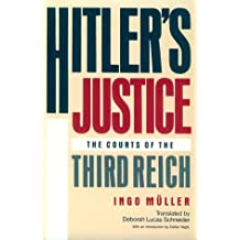 Hitler's Justice: The Courts of the Third Reich