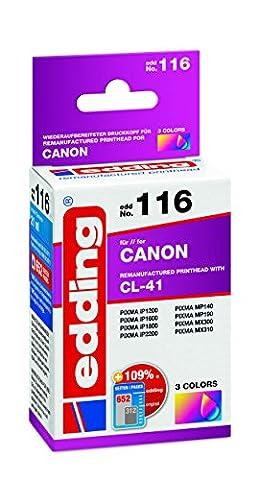 Edding 18-116 Cartouche d'encre individuelle EDD-116 remplaçant le modèle Canon