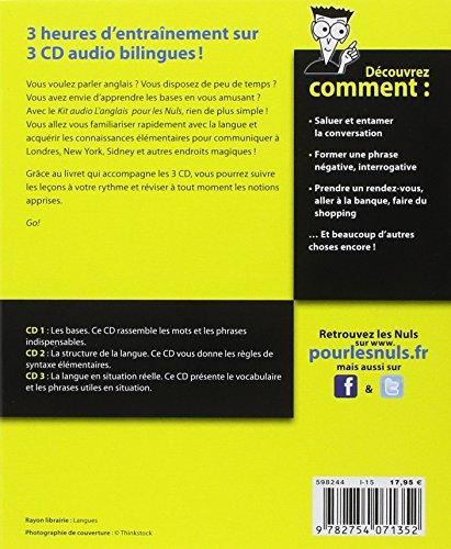 Kit audio L'anglais pour les Nuls