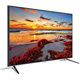 "Televisor LED TELEFUNKEN UMBRA55UHD Ultra HD 4K Smart TV Wifi Netflix 55"" plata/negro"