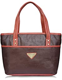 Fantosy Brown And Peach Women Shoulder Bag (brown And Peach) (FNb-786)