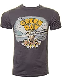 Official T Shirt GREEN DAY Grey DOOKIE Classic Album All Sizes