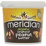 Meridian Organic Crunchy Peanut Butter (1 Kg)
