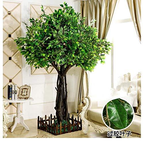 Künstliche pflanze simulation große pflanze dekoration hotel lobby set massivholz stamm nach maß 8 füße * 5 füße -