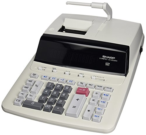 Sharp CS2635RHGYSE Printing Calculator Taschenrechner