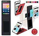 Alcatel OneTouch Pixi First Hülle in Rot Leder -