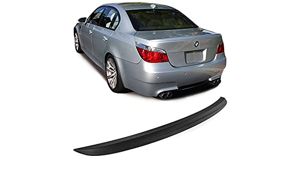 Car-Tuning24 54441377 wie Performance und M3 5er E60 2004-10 tuning spoiler CARBON look heckspoiler SLIM lippe heck flaps