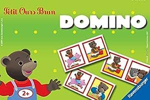 Ravensburger - 24213 - Jeu éducatif premier âge - Domino Petit Ours Brun