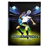 Goldbuch, Freundebuch  A5 Champion, 21x15cm, 72 Seiten, Fußball-Motiv, 41233