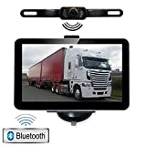 YQTEC Navigateur GPS avec Bluetooth, caméra de recul, mise à jour de carte gratuite 7 pouces