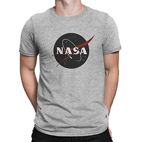 Vintage Retro Grunge NASA Logo Homme T-shirt M
