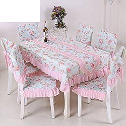TRE Simple rural moderna mesa de centro rectangular tela mantel/manteles/mantel/Tela para cubre-D 110x110cm(43x43inch)