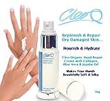Cleo Bio Hand Repair Creme mit Aloe Vera, Collagen & Jojoba-Öl–30g–ohne Tierversuche...