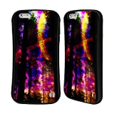 Head Case Designs Offizielle Haroulita Saturn-Blitz Raum Hybrid Hülle für iPhone 6 Plus/iPhone 6s Plus