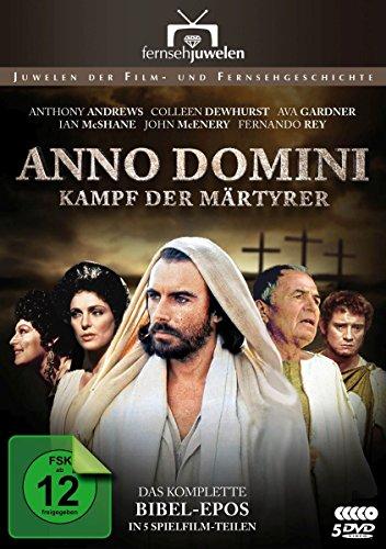 Bild von Anno Domini (A.D.) - Kampf der Märtyrer - Das komplette Bibel-Epos in 5 Teilen (Fernsehjuwelen) [5 DVDs]