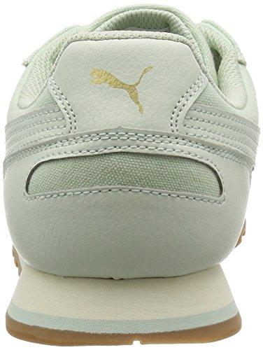 Puma St Runner CV, Sneaker Basse Unisex - Adulto Verde chiaro