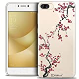 Caseink Coque pour ASUS Zenfone 4 Max ZC520KL (5.2) Housse Etui [Crystal Gel HD Collection Summer Design Sakura - Souple - Ultra Fin - Imprimé en France]