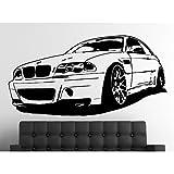 Wandtattoo BMW M3 CSL E46 Größe L