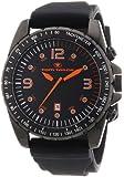 TOM TAILOR Herren-Armbanduhr XL Chronograph Quarz Silikon 5410301