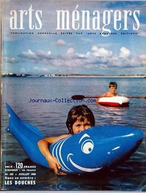 ARTS MENAGERS [No 103] du 01/07/1958 - AMENAGEMENT - MORALITES MENAGERES - CUISINE - ENFANTS - EQUIPEMENT MENAGER - FLEURS ET PLANTES. par Collectif