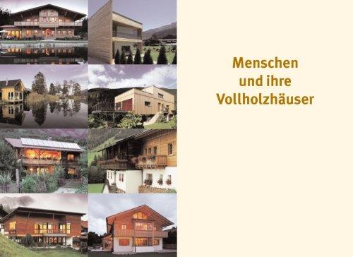 Vollholz Häuser: Das Baum-Prinzip für naturnahes Wohnen