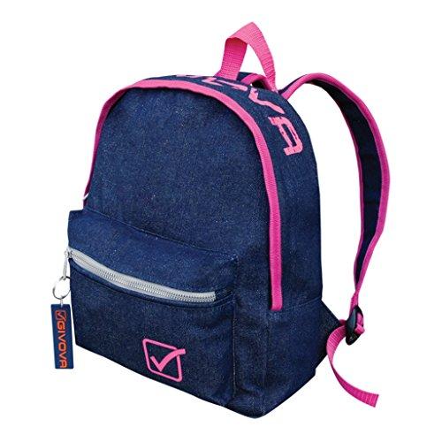 Rucksack Givova Univeristy Jeans Bags Fitnessstudio Fitness Training Schule 2016verschiedene Farben 31x 11x 25cm 4239 jeans/fuxia fluo