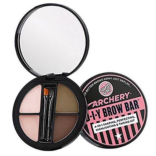 Soap And Glory Archery D-I-Y Brow Bar 4-in-1 Shaping, Perfecting, Highlighting & Taming Kit (Brow Shaping Kit)