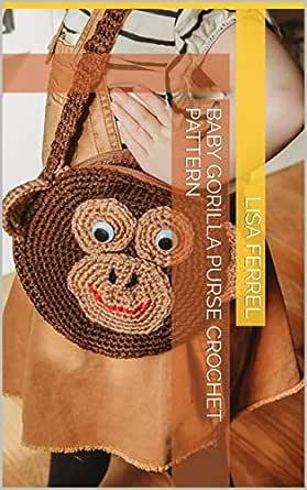 Gorilla Amigurumi - Free Crochet Pattern - StringyDingDing | 445x279