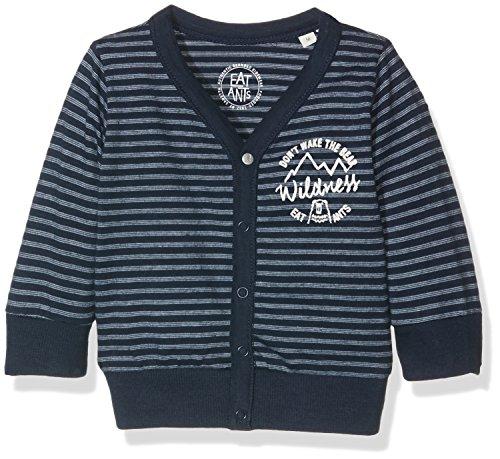 Sanetta Baby-Jungen Strickjacke 113754, Blau (Pacific Blue 50178), 68