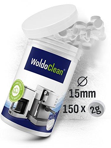 Reinigungstabletten für Kaffeevollautomaten Kaffeemaschine Kaffeeautomat Vollautomat - 150x Tabletten Kompatibel mit Jura, Delonghi, Bosch, Siemens Seaco, uvm.