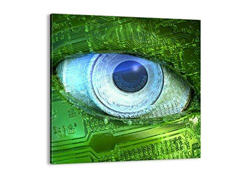 Bild auf Leinwand - Leinwandbilder - Einteilig - Breite: 70cm, Höhe: 70cm - Bildnummer 0333 - zum Aufhängen bereit - Bilder - Kunstdruck - AC70x70-0333
