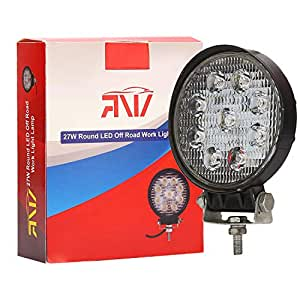 ARNV LEDL 9D Flood Beam Auxiliary LED Lamp for Cars and Bikes (27W)