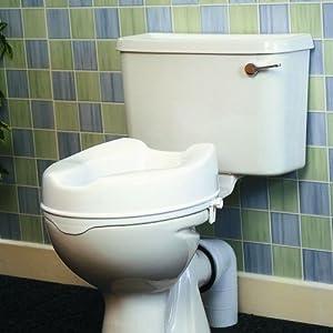 Toilettensitzerhöhung ohne Deckel: 5 cm