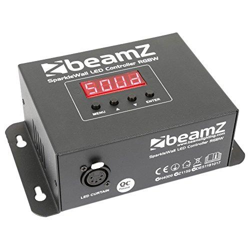 BeamZ SparkleWall Schwarz - Stroboscopes & Disco-Strahler (schwarz, LED, 96Leuchten, Blau, Grün,Rot und Weiß, 8Kanäle, Wechselstrom)