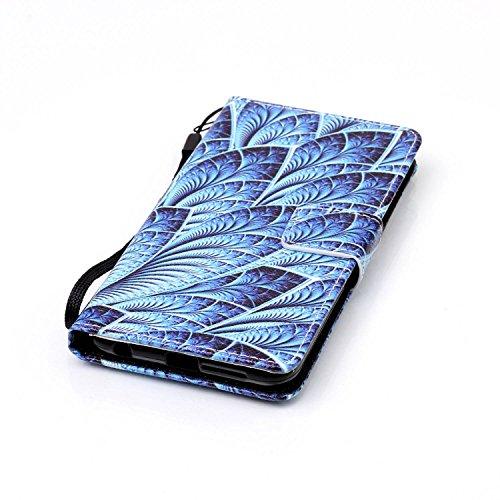 für Honor 8 Hülle,Hochwertige Kunst-Leder-Hülle mit Magnetverschluss Flip Cover Tasche Leder [Kartenfächer] Schutzhülle Lederbrieftasche Executive Design (+Staubstecker