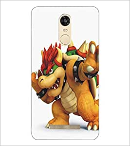 PrintDhaba Cartoon D-5372 Back Case Cover for XIAOMI REDMI NOTE 3 (Multi-Coloured)
