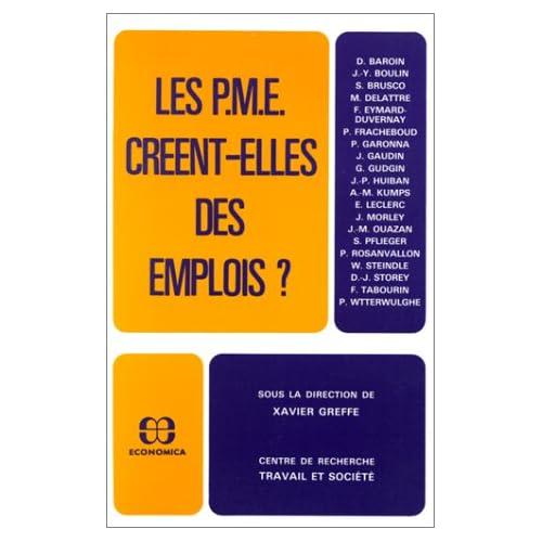 Les PME créent-elles des emplois?