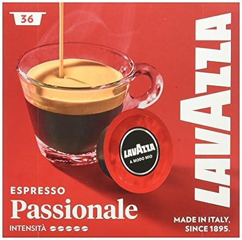 Capsules Cafe Lavazza - Lavazza A Modo Mio Espresso Passionale Capsules