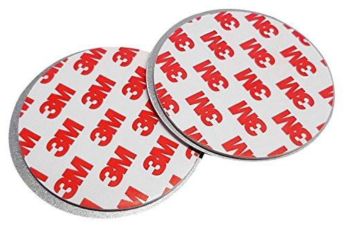 10er Pack Rauchmelder Magnete 3M Magnetbefestigung Magnethalterung Magnetpad